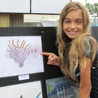 "Patronis Elementary 5th Grade ""Lionfish Art\"" Contest"