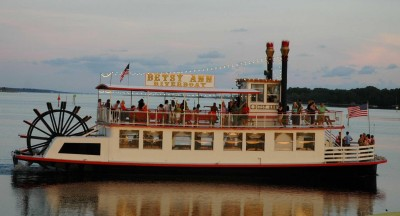 The Betsy Ann Riverboat