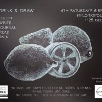 Drink & Draw + Color: January