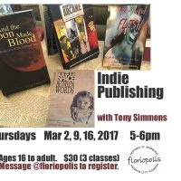 Indie Publishing with Tony Simmons