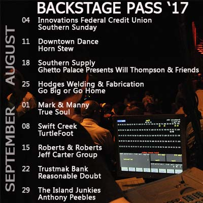 Backstage Pass 2017