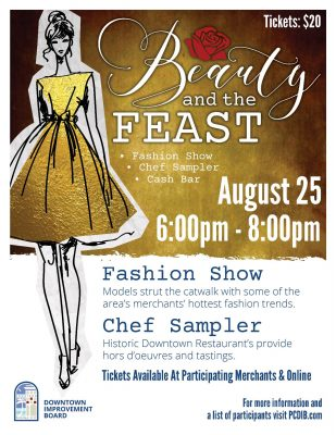 Beauty and the Feast - Fashion show and Chef Sampler