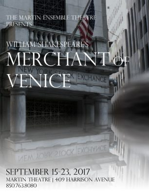 Auditions-Martin Ensemble Theatre Merchant of Venice