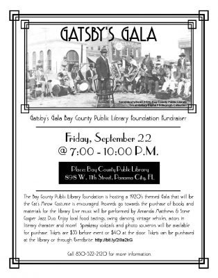 Gatsby's Gala Bay County Public Library Foundation...