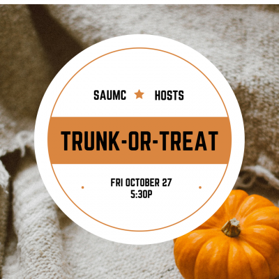 SAUMC Hosts A Spooky Night Trunk-or-Treating
