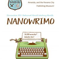 NaNoWriMo: Writing Ember with visiting author, Brock Adams