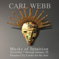 CARL WEBB - Masks of Intuition