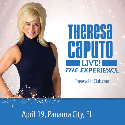 Theresa Caputo, TLC's Long Island Medium in Panama...