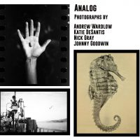 Analog: Photographs by Andrew Wardlow, Katie DeSantis, Nick Gray and Johnny Goodwin