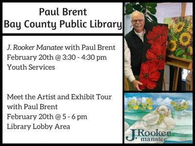 Meet the Artist and Exhibit Tour with Paul Brent
