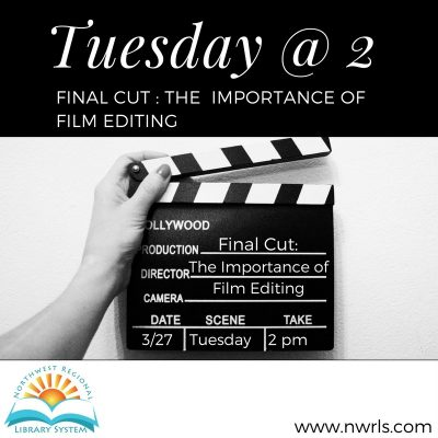 Tuesday at 2: Final Cut - The Importance of Film E...