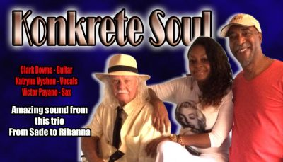 Friends Presents Concert Series: Konkrete Soul