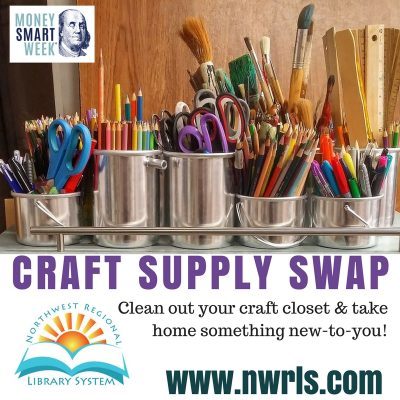 Money Smart Week: Craft Supply Swap