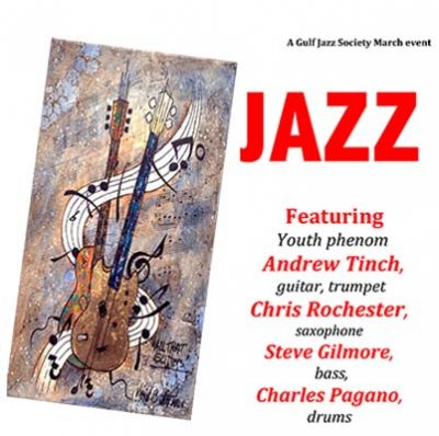 Jazz Quartet Featuring Local Phenom Andrew Tinch Returns to The Place