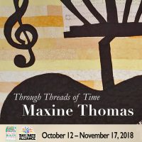 MAXINE THOMAS - Through Threads of Time