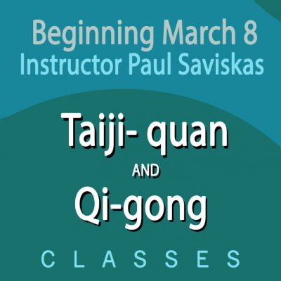 Taiji-quan and Qi-gong Class - MEMBERS ONLY