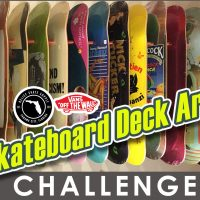SKATEBOARD DECK ART CHALLENGE