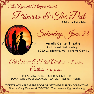 Pyramid Players present Princess & The Poet