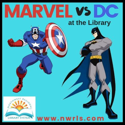 Marvel vs DC at the Library