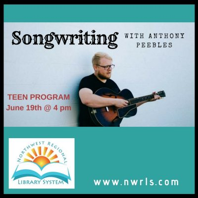 Songwriting with Anthony Peebles