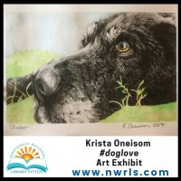 #doglove Art Exhibit by Krista Oneisom