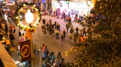 2018 Jaycees Historic Downtown Christmas Parade, Downtown