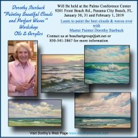 Perfect Clouds and Beautiful Waves With Dorothy Starbuck