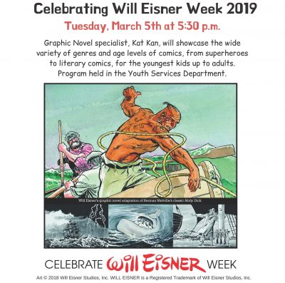 Comics are for Everyone! Celebrating Will Eisner W...