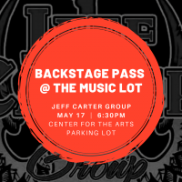Backstage Pass at The Music Lot: Jeff Carter Group sponsored by Hancock Whitney Bank