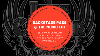Backstage Pass at The Music Lot: Jeff Carter Group...
