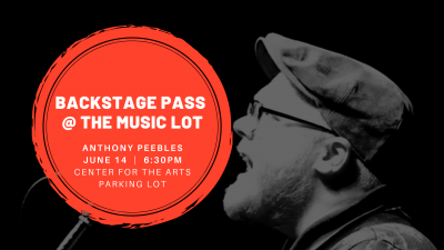 Backstage Pass at The Music Lot: Anthony Peebles s...