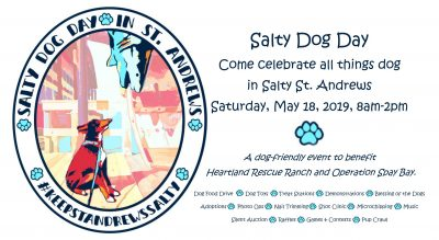 Salty Dog Day in St. Andrews
