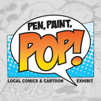 Pen, Paint, POP!: Local Comics and Cartoon Exhibition