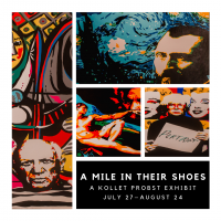 A Mile in Their Shoes Exhibition