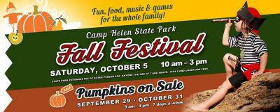 4th Annual Fall Festival at Camp Helen State Park