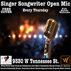 Singer Songwriter Open Mic - Full Bands Welcome - Hosted by Dan Strauss