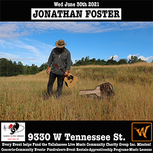 Jonathan Foster at The Warrior on the River