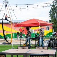 First Friday is Back at Railroad Square Art District