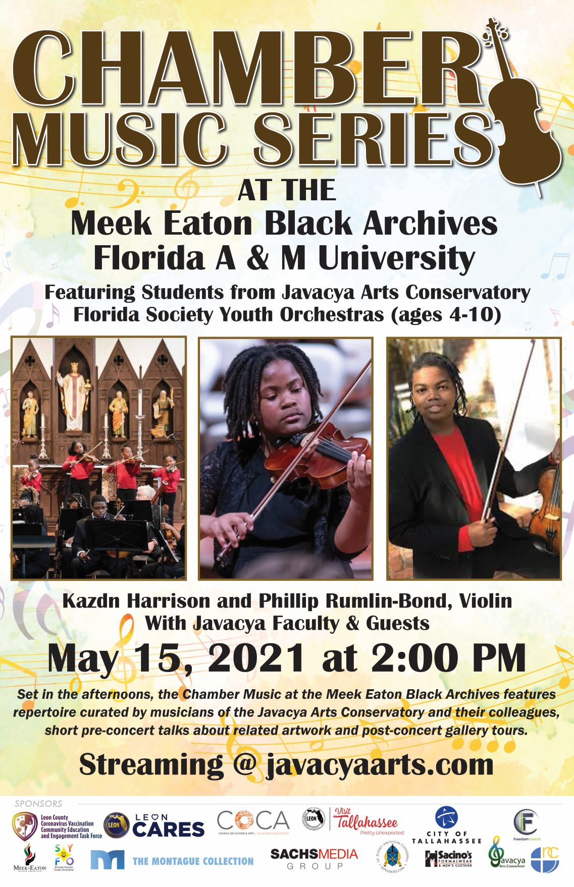 Chamber Music Series at Florida A&M University's Meek Eaton Black Archives