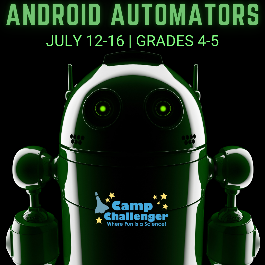 Camp Challenger: Android Automators (Grades 4-5)