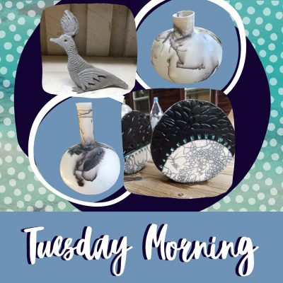 Tuesday Morning Creating with Clay!