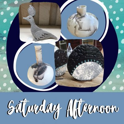 Saturday Morning Creating with Clay!