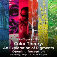 Color Theory: An Exploration of Pigments, Opening Reception