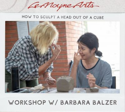 """""""How to Sculpt a Head out of a Cube"""" Workshop w/ B..."""